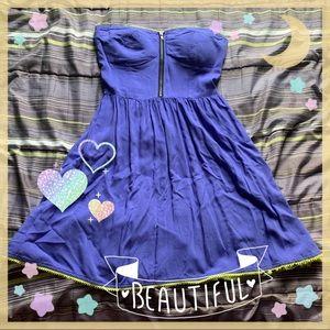 6/$25 Sweet Lilac Rampage Strapless Dress
